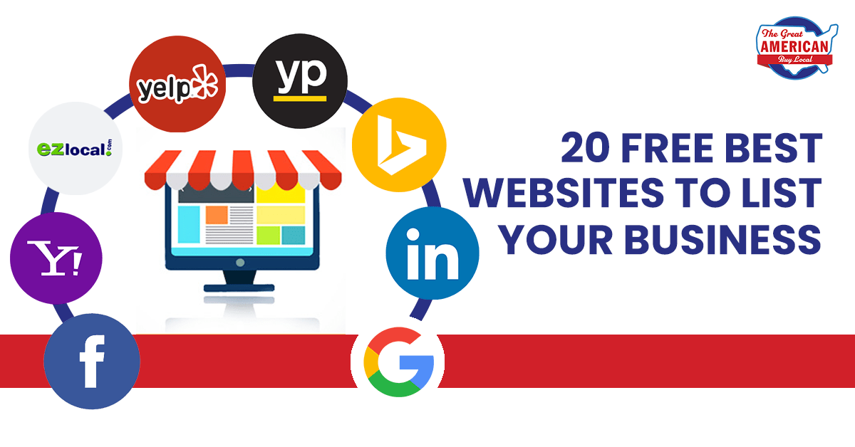 20 Free Best Websites to list your business